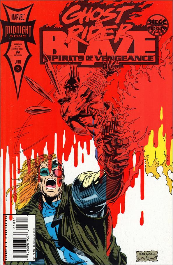 Ghost Rider/Blaze: Spirits of Vengeance 18-A by Marvel