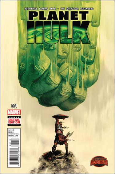 Planet Hulk 1-A by Marvel