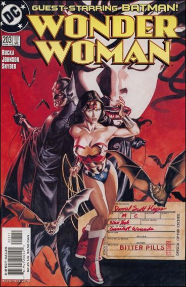 Wonder Woman (1987) 203-A by DC