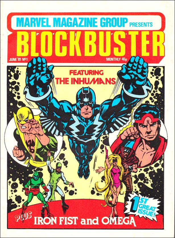 Blockbuster (UK) 1-A by Marvel UK