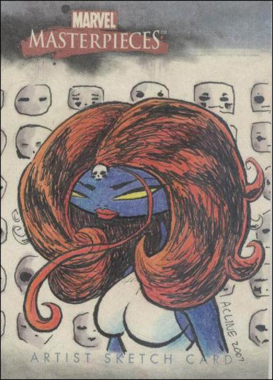 2007 Marvel Masterpieces (Sketch Card Subset) AC-A by Upper Deck