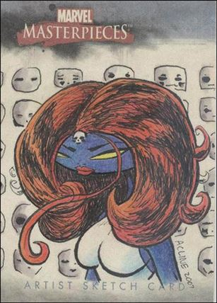 2007 Marvel Masterpieces (Sketch Card Subset) AC-A
