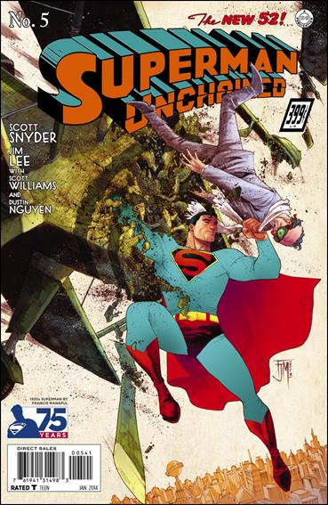 Superman Unchained 5-K by DC