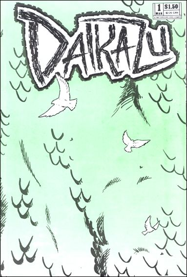 Daikazu 1-A by Ground Zero Comics