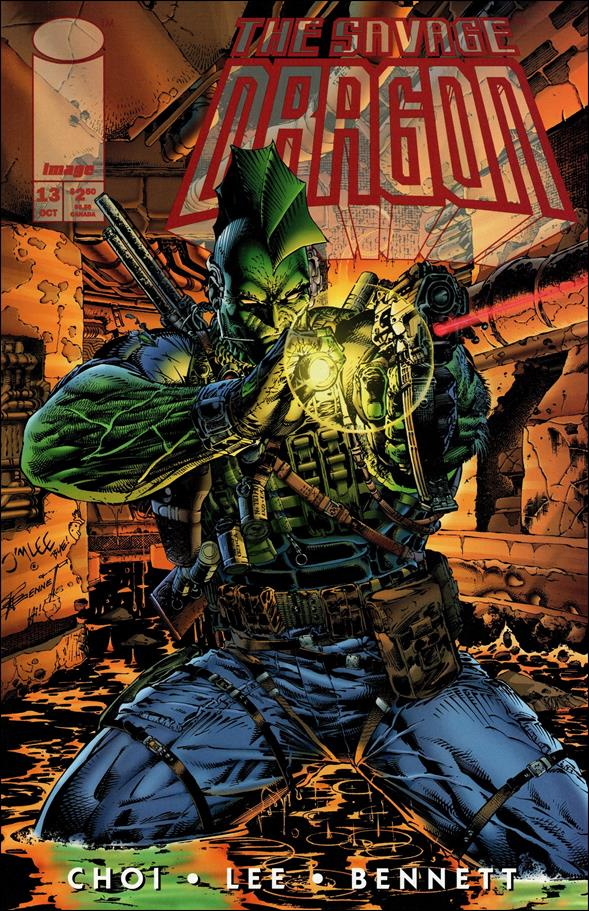 Savage Dragon (1993) 13.1-A by Image
