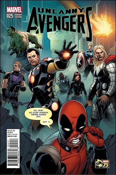 Uncanny Avengers (2012) 25-B by Marvel