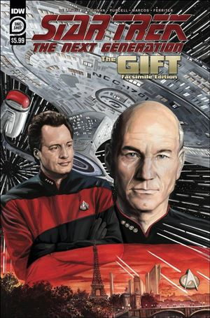 Star Trek: The Next Generation: The Gift Facsimile Edition One Shot-A