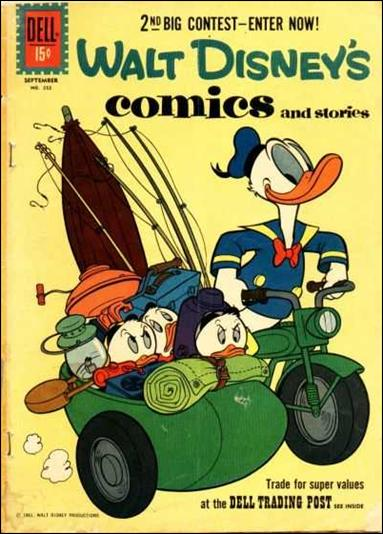 Walt Disney's Comics and Stories (1940) 252-A by Dell
