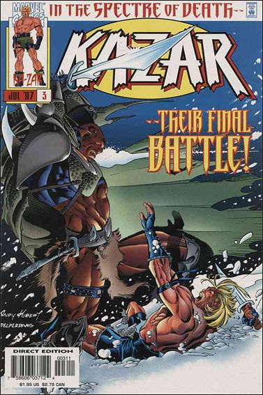 Ka-Zar (1997) 3-A by Marvel