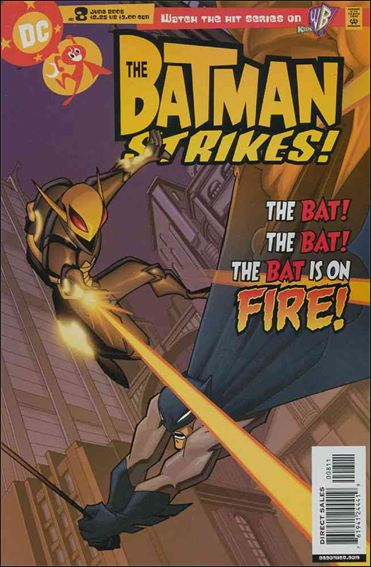Batman Strikes 8-A by DC