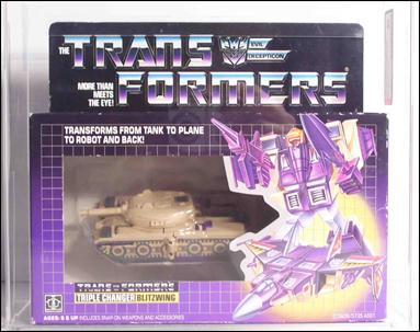 Transformers: More Than Meets the Eye (Generation 1) Blitzwing (Triple Changer) by Hasbro
