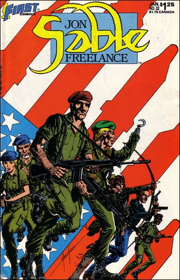 Jon Sable, Freelance 32-A by First