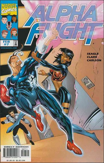 Alpha Flight (1997) 7-A by Marvel