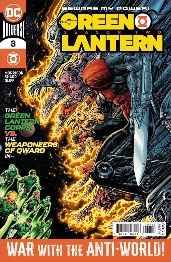 Green Lantern: Season Two 8-A by DC