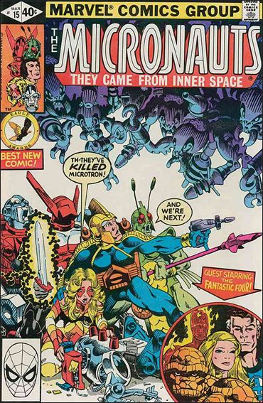 Micronauts (1979) 15-A by Marvel