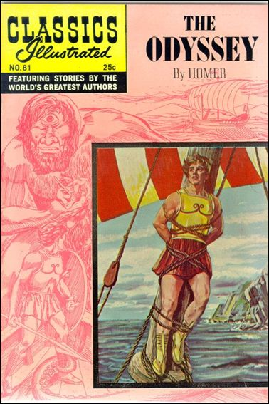 Classic Comics/Classics Illustrated 81-D by Gilberton
