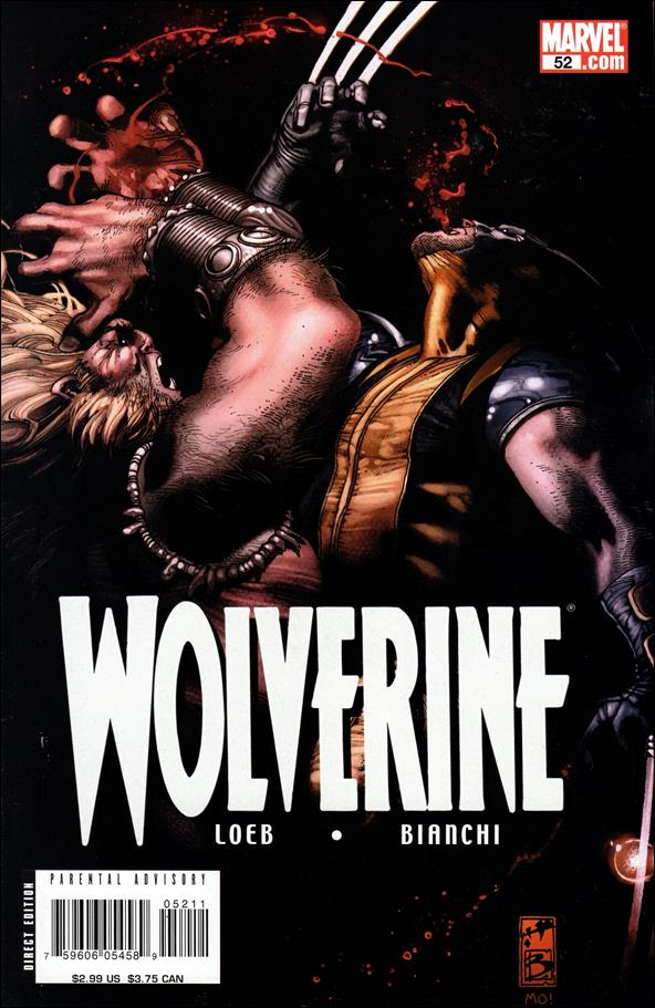 Wolverine (2003)  52-A by Marvel