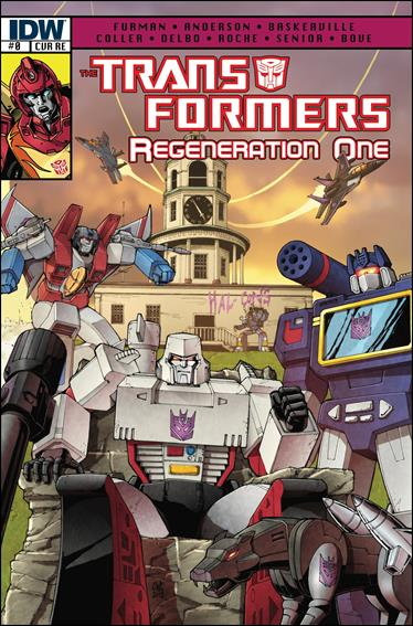 Transformers: Regeneration One 0-D by IDW