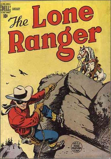 Lone Ranger (1948) 7-A by Dell