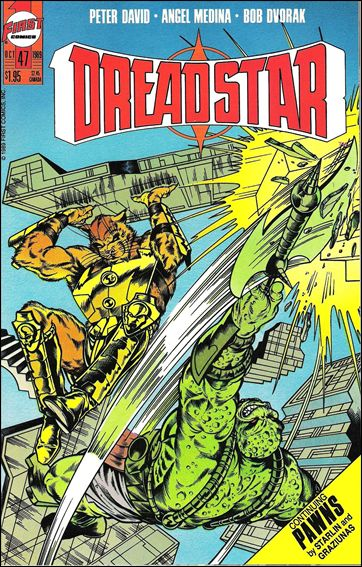 Dreadstar (1982) 47-A by Epic
