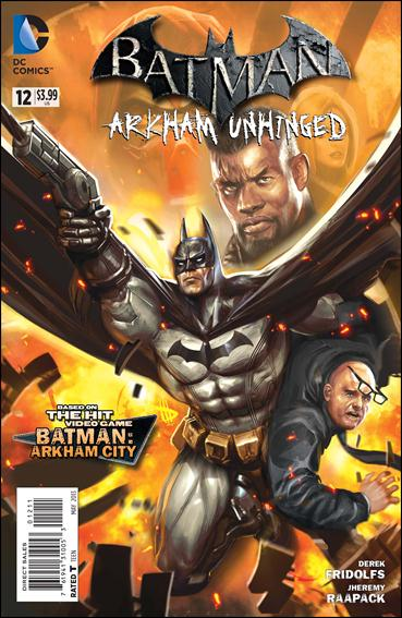 Batman: Arkham Unhinged 12-A by DC