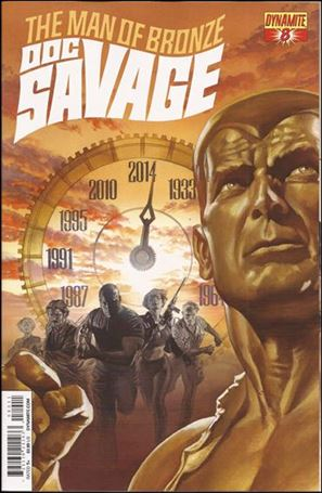 Doc Savage (2013) 8-A