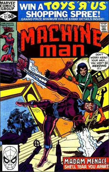 Machine Man (1978) 17-A by Marvel