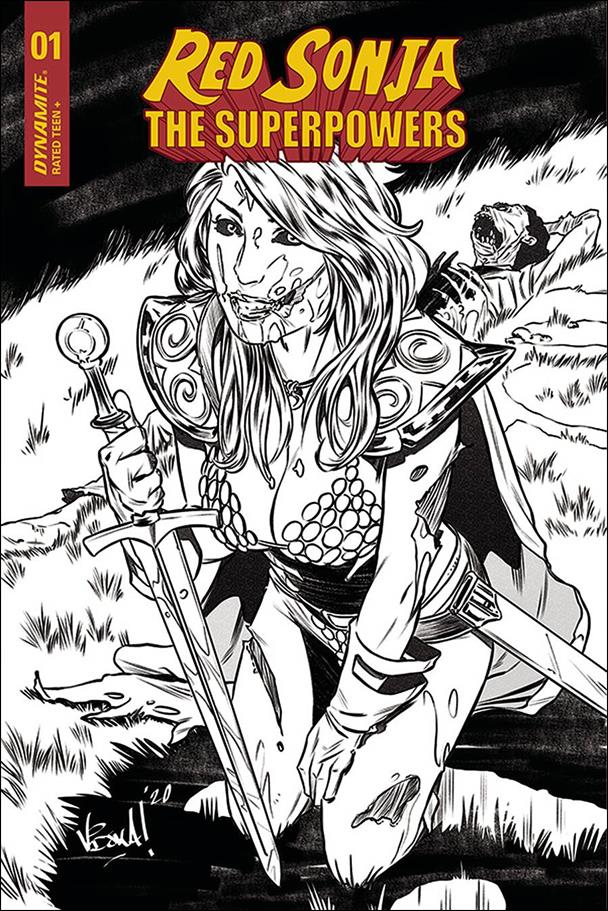 Red Sonja: The Superpowers 1-J by Dynamite Entertainment