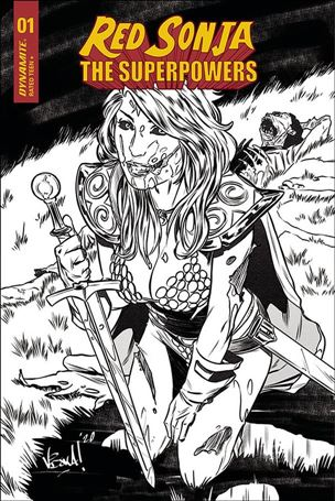 Red Sonja: The Superpowers 1-J