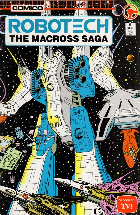 Robotech: The Macross Saga 5-A by Comico