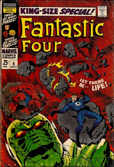 Fantastic Four Annual  6-A by Marvel