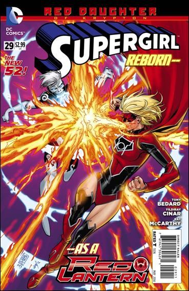 Supergirl (2011) 29-A by DC