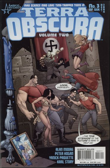 Terra Obscura (2004) 3-A by America's Best Comics