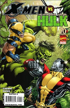 X-Men vs Hulk 1-A