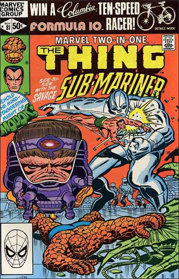 Marvel Two-in-One (1974) 81-A by Marvel