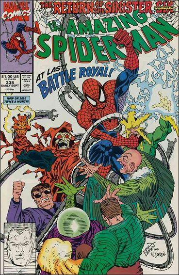 Amazing Spider-Man (1963) 338-A by Marvel