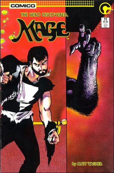 Mage: The Hero Discovered 11-A by Comico