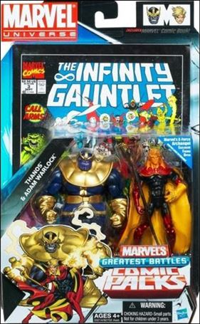 Marvel Universe: Marvel's Greatest Battles (Comic-Packs) Thanos and Adam Warlock