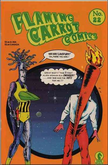 Flaming Carrot Comics (1984) 22-A by Dark Horse