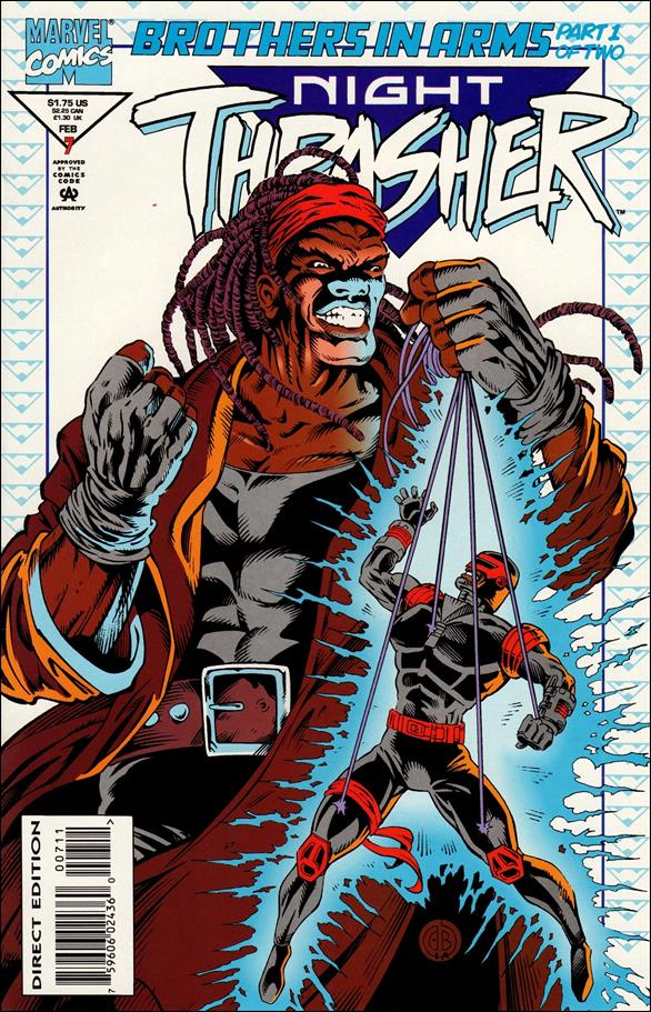 Night Thrasher 7-A by Marvel