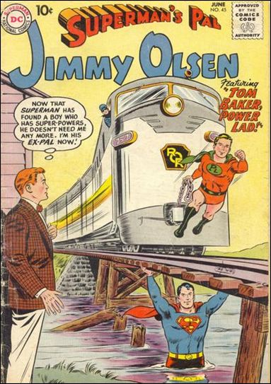 Superman's Pal Jimmy Olsen 45-A by DC