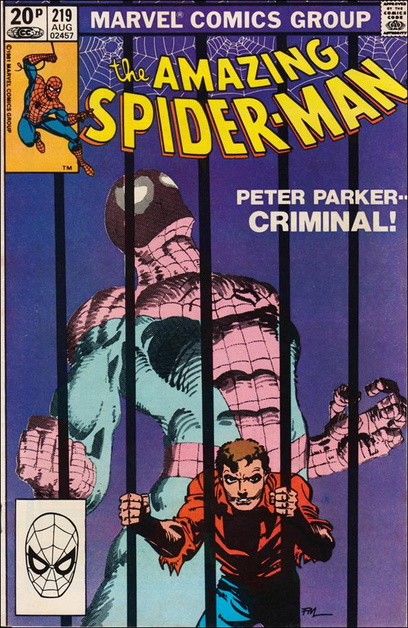 Amazing Spider-Man (1963) 219-B by Marvel