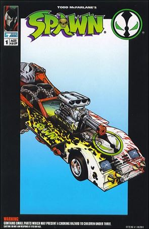 Spawn Action Figure Comic Spawnmobile 1-A
