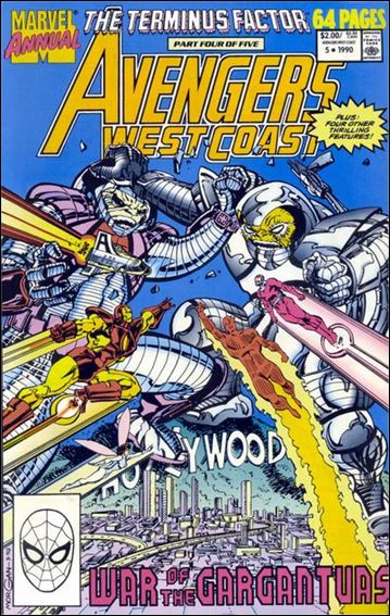 Avengers West Coast Annual 5-A by Marvel