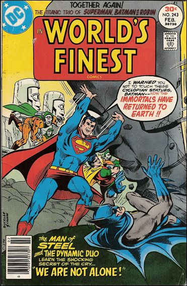 World's Finest Comics 243-A by DC