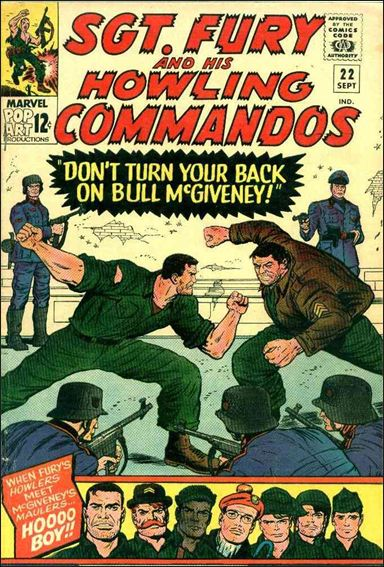 Sgt. Fury and His Howling Commandos 22-A by Marvel