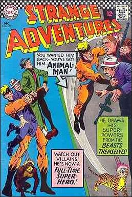 Strange Adventures (1950) 195-A by DC