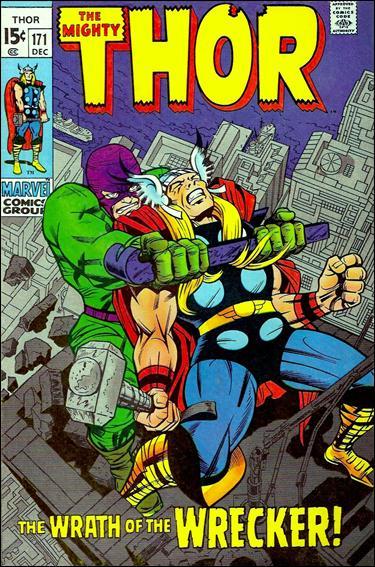 Thor (1966) 171-A by Marvel