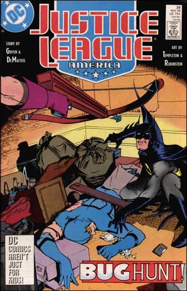 Justice League America 26-A by DC