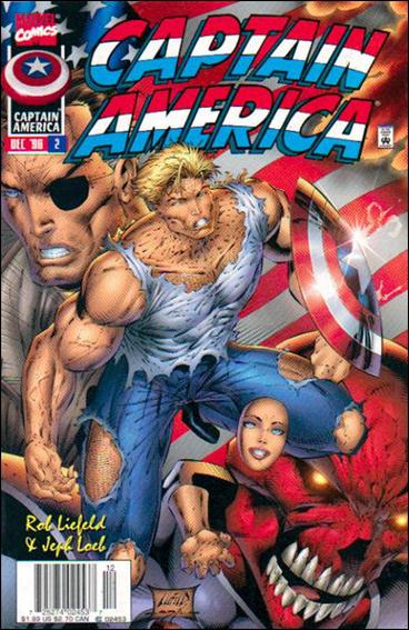Captain America (1996) 2-B by Marvel
